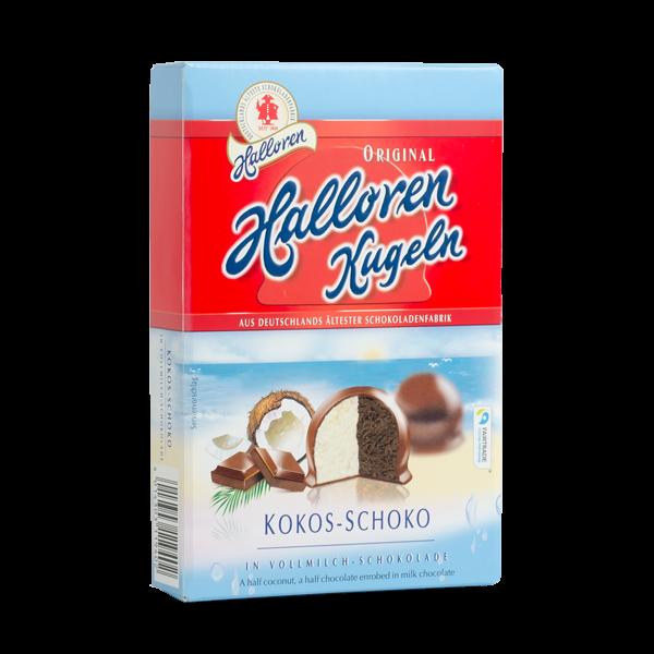 Original Halloren Kugeln Kokos-Schoko