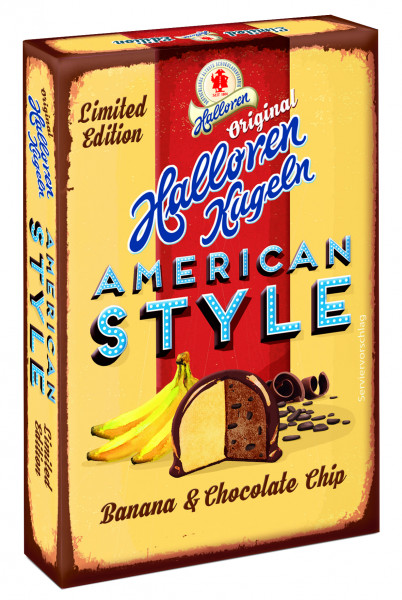 LIMITED EDITION Banana Chocolate Chip Original Halloren Kugeln