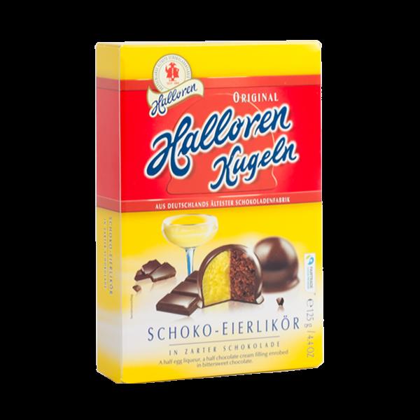 Original Halloren Kugeln Schoko-Eierlikör