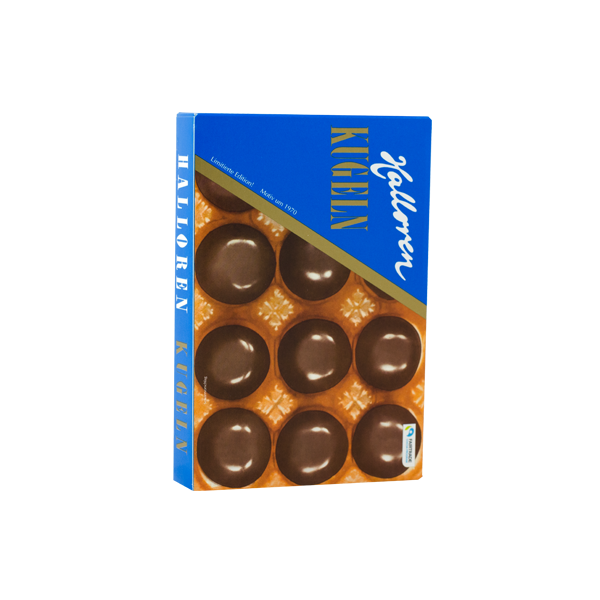 Nostalgie Sahne-Cacao Original Halloren Kugeln