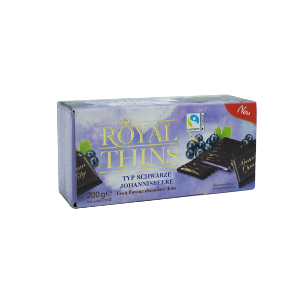 Royal Thins Schwarze Johannisbeere