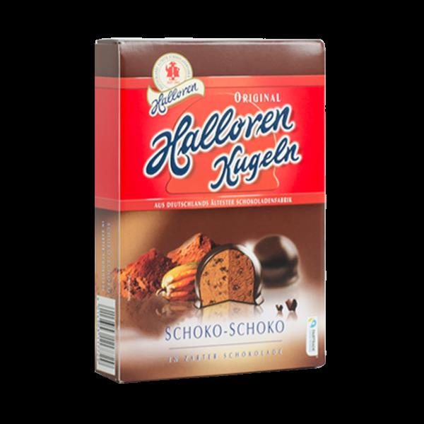 Original Halloren Kugeln Schoko-Schoko