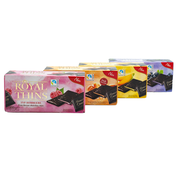 Royal Thins 4er Set