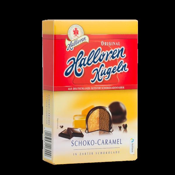 Schoko-Caramel Original Halloren Kugeln