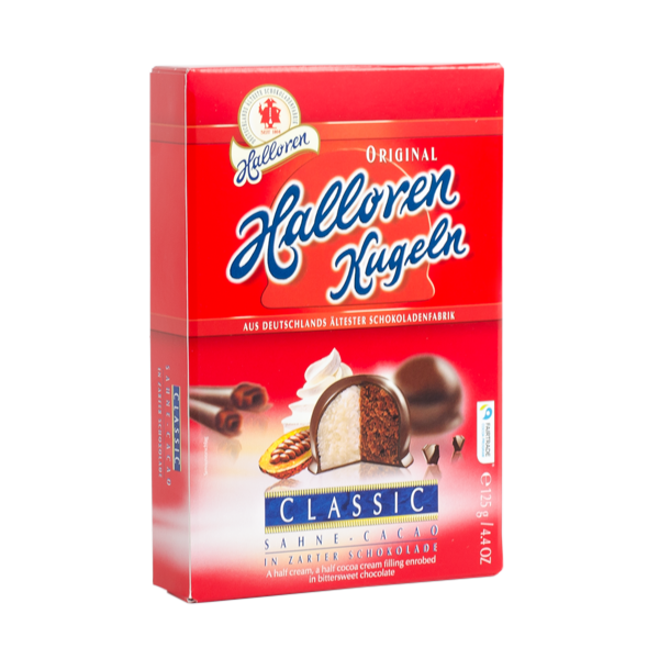 Sahne-Cacao Original Halloren Kugeln