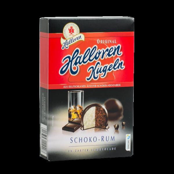 Original Halloren Kugeln Schoko-Rum